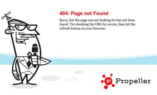 Example Custom 404 page